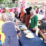 STKIP Bima Bazar Makanan Khas Bima di Acara Seminar Nasional