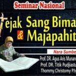 Yuuk Hadiri ! Seminar Jejak Sang Bima dan Majapahit