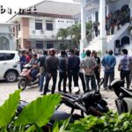 Protes Mutasi, Aksi KAHMI Ricuh di Kantor Kemenag