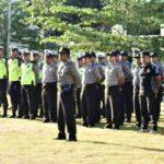 251 Personil Polri dan TNI Siap Amankan Penetapan Paslon