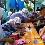 Mahasiswa PKL Poltekes Mataram Prodi DIII Keperawatan Bima Baksos di Rite