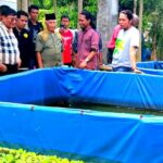 Kunjungi Lokasi Budidaya Ikan Milik Babuju, Farouk Janji Bantu Sesuai Kewenangannya di DPD RI