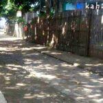 Uang Diembat Staf Desa, Proyek Rabat Gang Desa Tumpu Terbengkalai