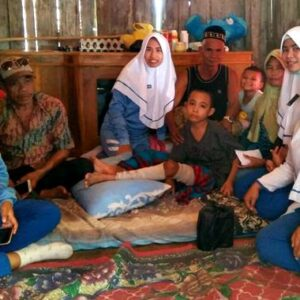 IKM Akbid Harbun Bantu Korban Kebakaran