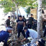 Bersihkan Pantai Kalaki, Komunitas Jao Bima Kumpulkan 6 Ton Sampah