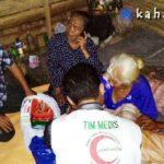 Rejeki Ina Mene, Sentral Muslim Langsung Salurkan Bantuan
