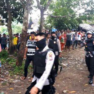 Polisi Bubarkan Judi Sabung Ayam di Kumbe