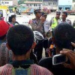 Polres Bima Larang Mobil Pick Up Muat Penumpang Saat Kampanye