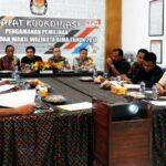 KPU Rakor Pengamanan Calon Walikota dan Wakil Walikota Bima