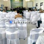 Bupati Pulang, Acara Seminar Nasional Pun Sepi