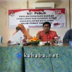 KPU Gelar Uji Publik Alokasi Kursi Anggota DPRD Kota Bima