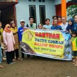 STKIP Bima Ringankan Beban Korban Banjir Dompu