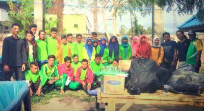 Siswa SMKN 11 Bima Belajar Budidaya Ikan di Babuju Mandiri