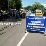 Sat Lantas Polres Bima Kota Gelar Operasi Keselamatan