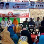 Blusukan di Sarata, Lutfi-Feri Janji Prioritaskan Air Bersih dan Modal Usaha
