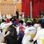 Acara Debat Publik Paslon Kurang Greget dan Tidak Seru