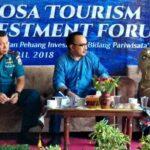 Di Atas KRI Teluk Banten, Bupati Paparkan 120 Destinasi Wisata