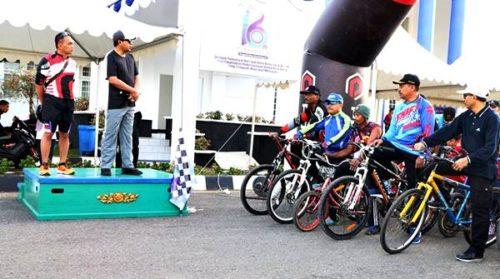 Walikota dan Dandim Lepas Peserta Fun Bike