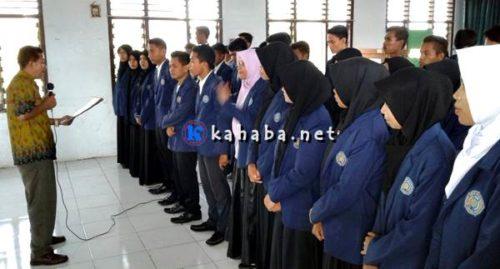 Pengurus BEM dan DPM IAI Muhammadiyah Bima Dilantik
