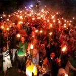 Ribuan Obor di Rontu Sambut Kedatangan Lutfi-Feri