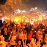 """Sambutan Kehadiran Lutfi-Feri Tidak Pernah Sepi, Ini Lihat """"Lautan Manusia"""" di Kelurahan Tanjung"""