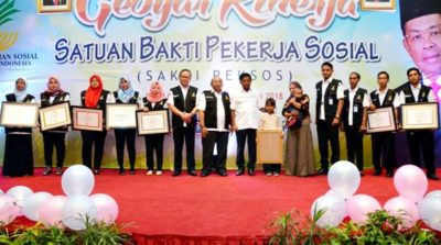 Peksos Anak Kabupaten Bima Dapat Penghargaan dari Mensos RI