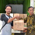 Surat Suara Pemilihan Walikota dan Wakil WalikotaBimaTiba diKantor KPU