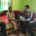 Polres Bima Serahkan Bantuan Untuk Korban Kecelakaan