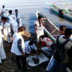 BSMI dan Boxer Bima Bersih-Bersih Pantai Amahami