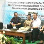 Seminar Merajut Nusantara, Syafrudin: TIK Berperan Penting di Era Globalisasi dan Demokrasi