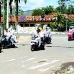 Konvoi Ugal-Ugalan Pelajar SMA Bahayakan Pengguna Jalan