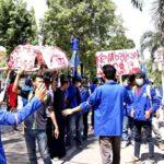 May Day, BEM STIE Bawa Keranda Matinya Kesejahteraan Buruh