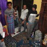 Polisi Amankan 203 Botol Miras di Kelurahan Dara