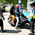 Operasi Patuh Gatarin, Polres Bima Tilang 2.026 Kendaraan