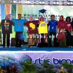 STIE Bima Promosi dan Berkontribusi di Acara Pelepasan Siswa SMKN 1
