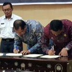 Walikota Bima dan Ketua DPR Terima LHP WTP Dari BPK Mataram