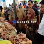 Sebelum Ramadan, Satgas Pangan NTB Tinjau Harga Sembako di Pasar Amahami