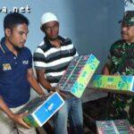 Tim Gabungan di Bolo Sisir Penjual Petasan