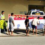 Polres Bima Kota Bentangkan Spanduk Kecam Aksi Teroris, Warga Ikut Bubuhkan Tandatangan