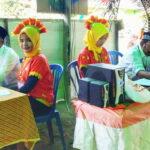 KPPS di Desa Mbuju Kreatif, Petugasnya Pakai Baju Adat dan TPS Diberi Hiasan