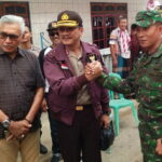 Tim Asisten Mabes Polri Kunjungi  TPS 3 Desa Tente