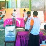 Aji Lutfi Berikan Hak Suara di TPS 15 Jatiwangi