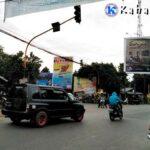 Traffic Light di Cabang Donggo Tak Berfungsi, Lalu Lintas Sembrawut