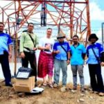Syafrudin Bersyukur Jaringan Telkomsel Masuk Desa Sampungu