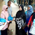 STIE Bima Berbagi Sembako di Bulan Ramadan