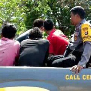 9 Orang Pelaku Pembacokan di Wera Dibekuk