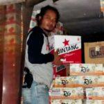 Polisi Amankan Ratusan Dus Miras Yang Diangkut Truk Box