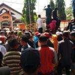 KPU Kota Bima Didemo, Ini Tuntutan Massa Aksi