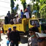 Massa Aksi Desak Rekap Tingkat KPU Dihentikan