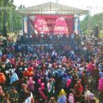 Ribuan Warga Bima-Dompu Tumpah Ruah Saat Festival Rimpu di Monas